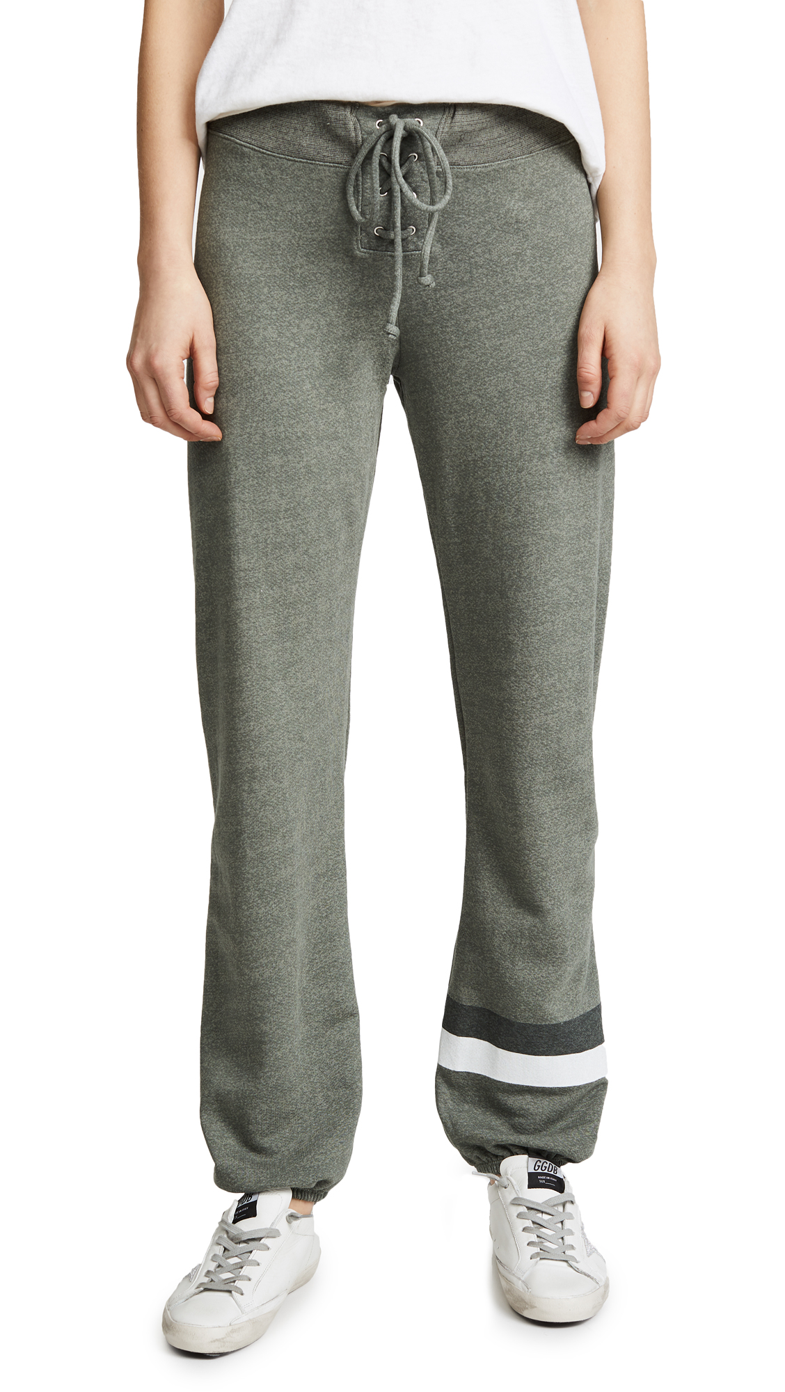 SUNDRY Lace Up Sweatpants