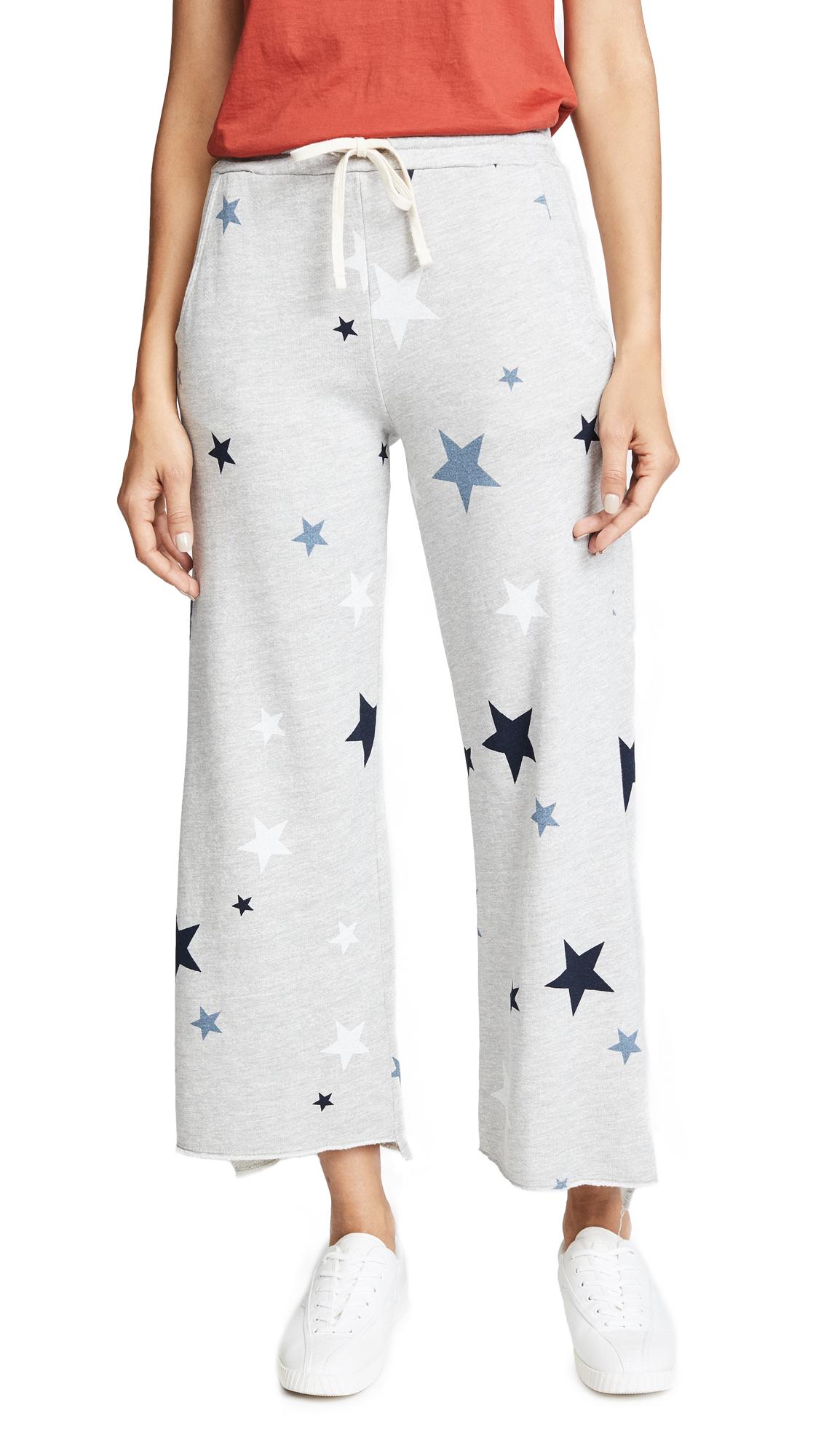 SUNDRY Stars Flare Sweatpants