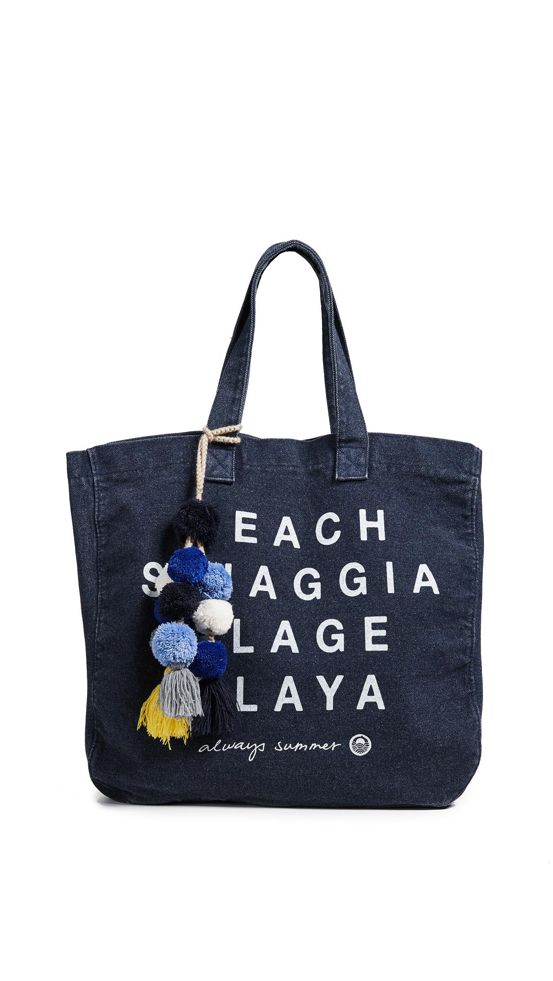 SUNDRY Plage Tote Bag
