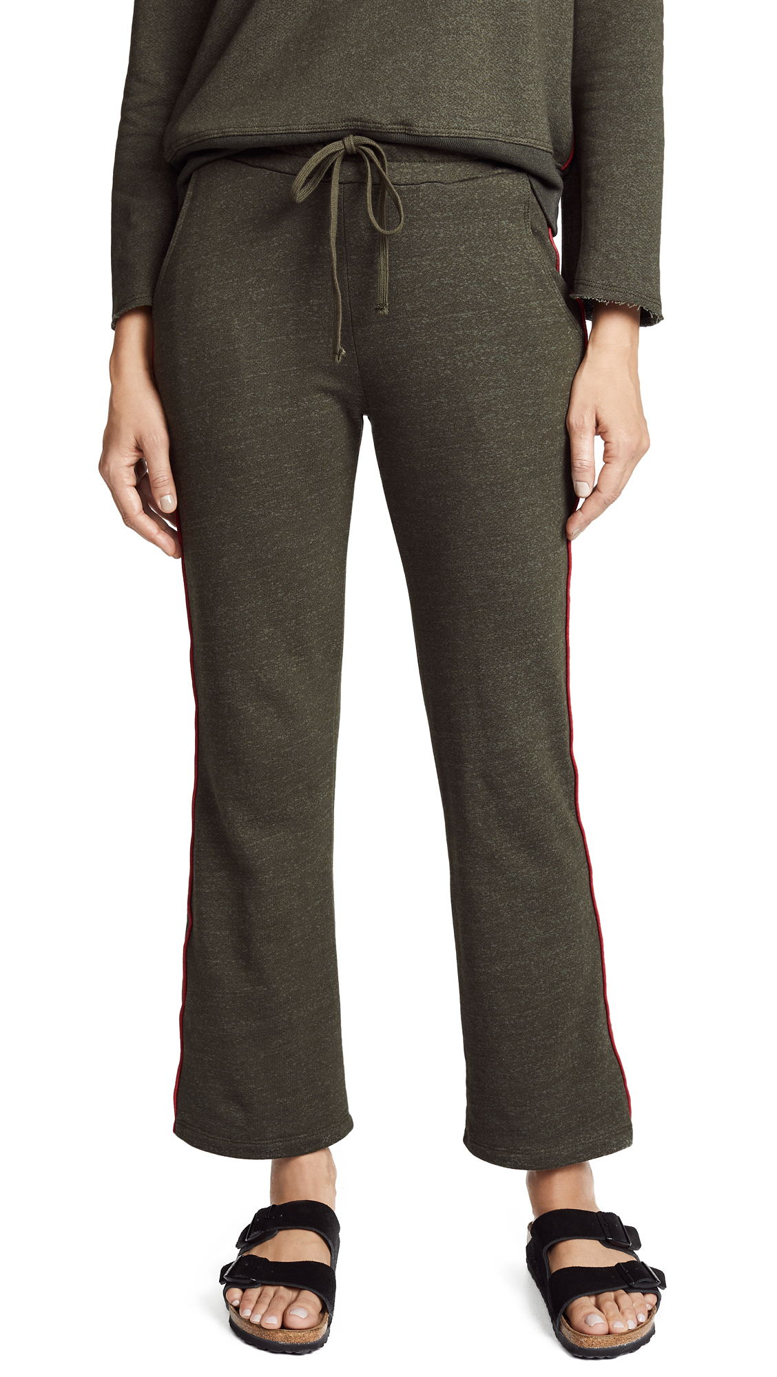 SUNDRY PIPED SWEATPANTS
