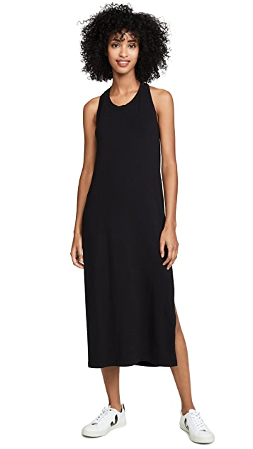 SUNDRY Twist Back Dress