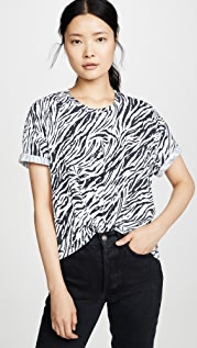 SUNDRY 斑马超大版 T 恤