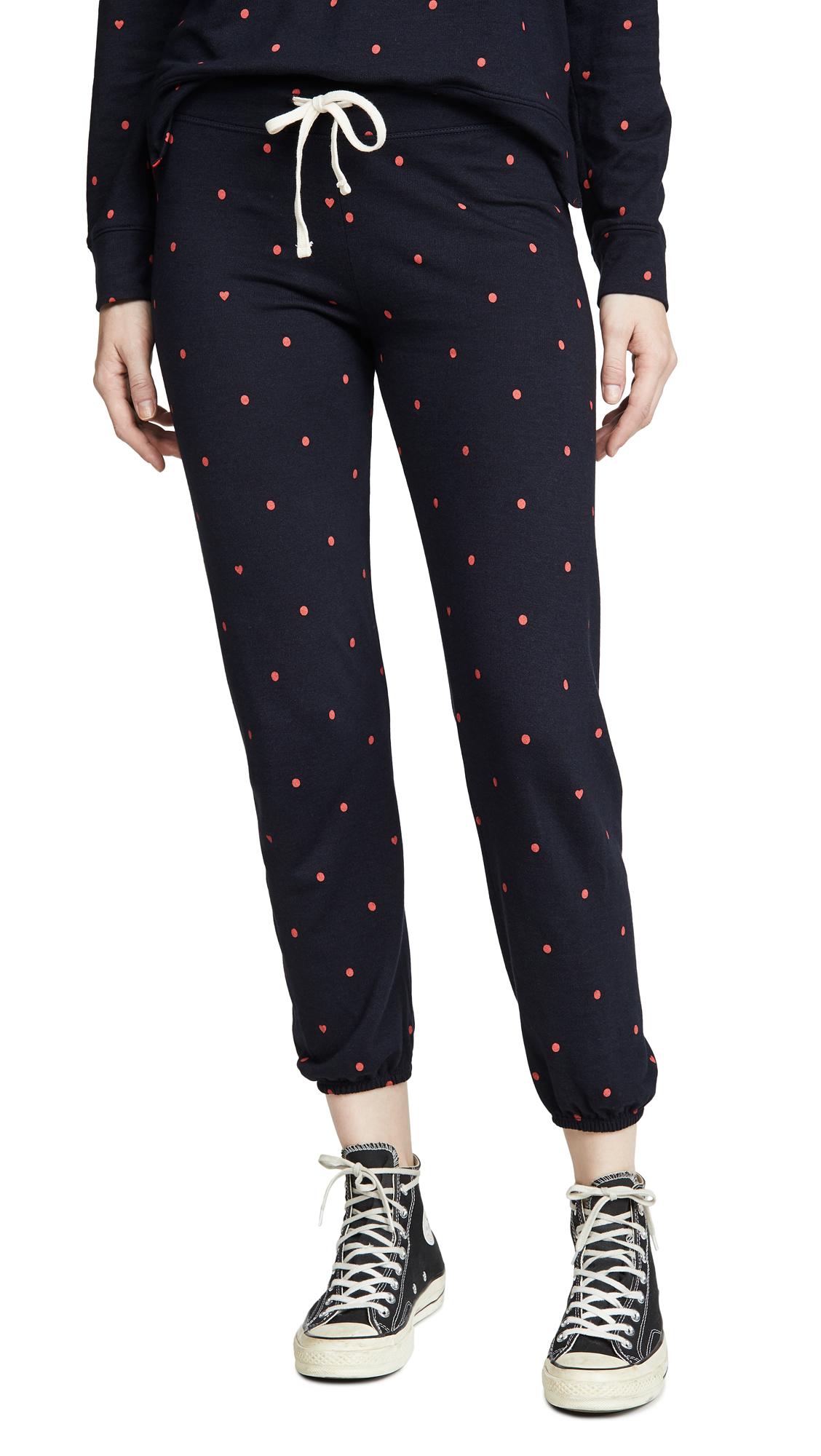 Buy SUNDRY online - photo of SUNDRY Polka Dot Sweatpants