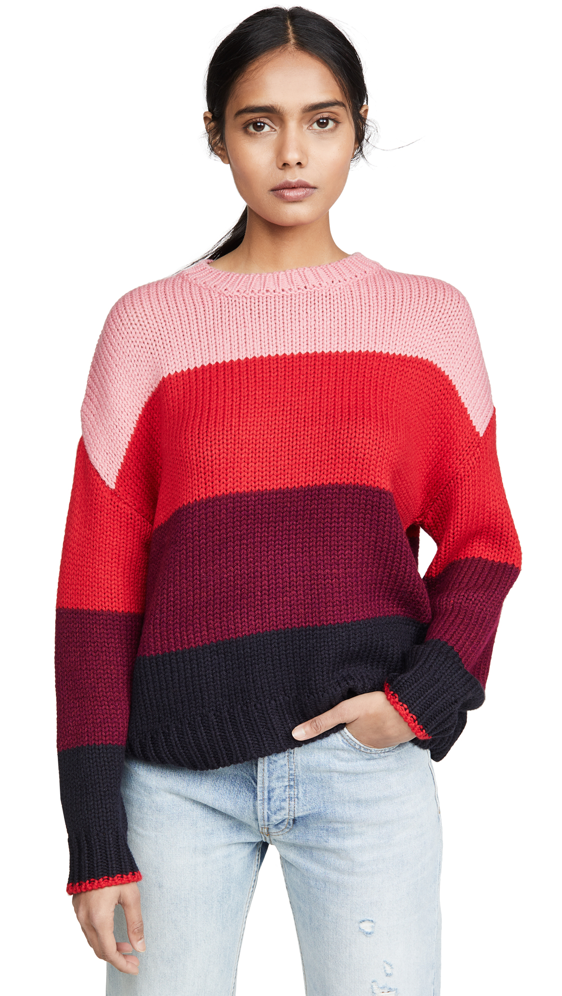 Buy SUNDRY online - photo of SUNDRY Loose Knit Sweater