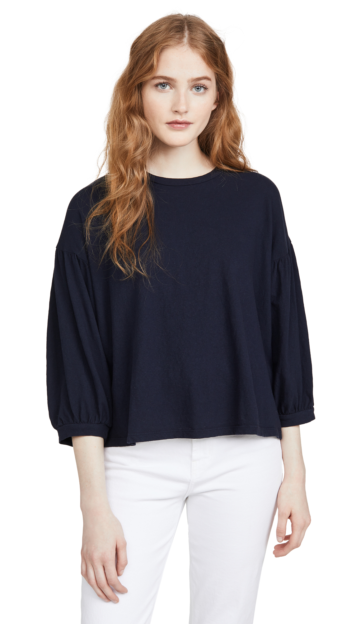 Buy SUNDRY online - photo of SUNDRY Bubble Sleeve Top