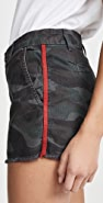 SUNDRY Camo Shorts with Trim