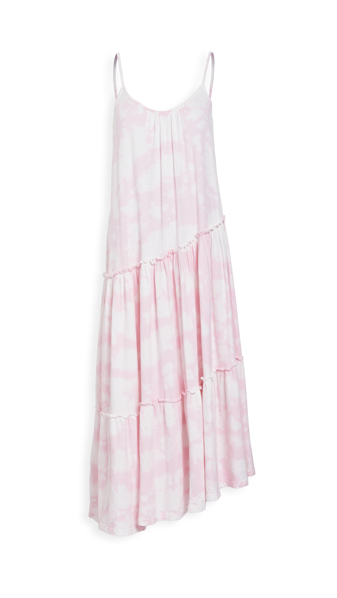 SUNDRY Asymmetrical Tiered Dress