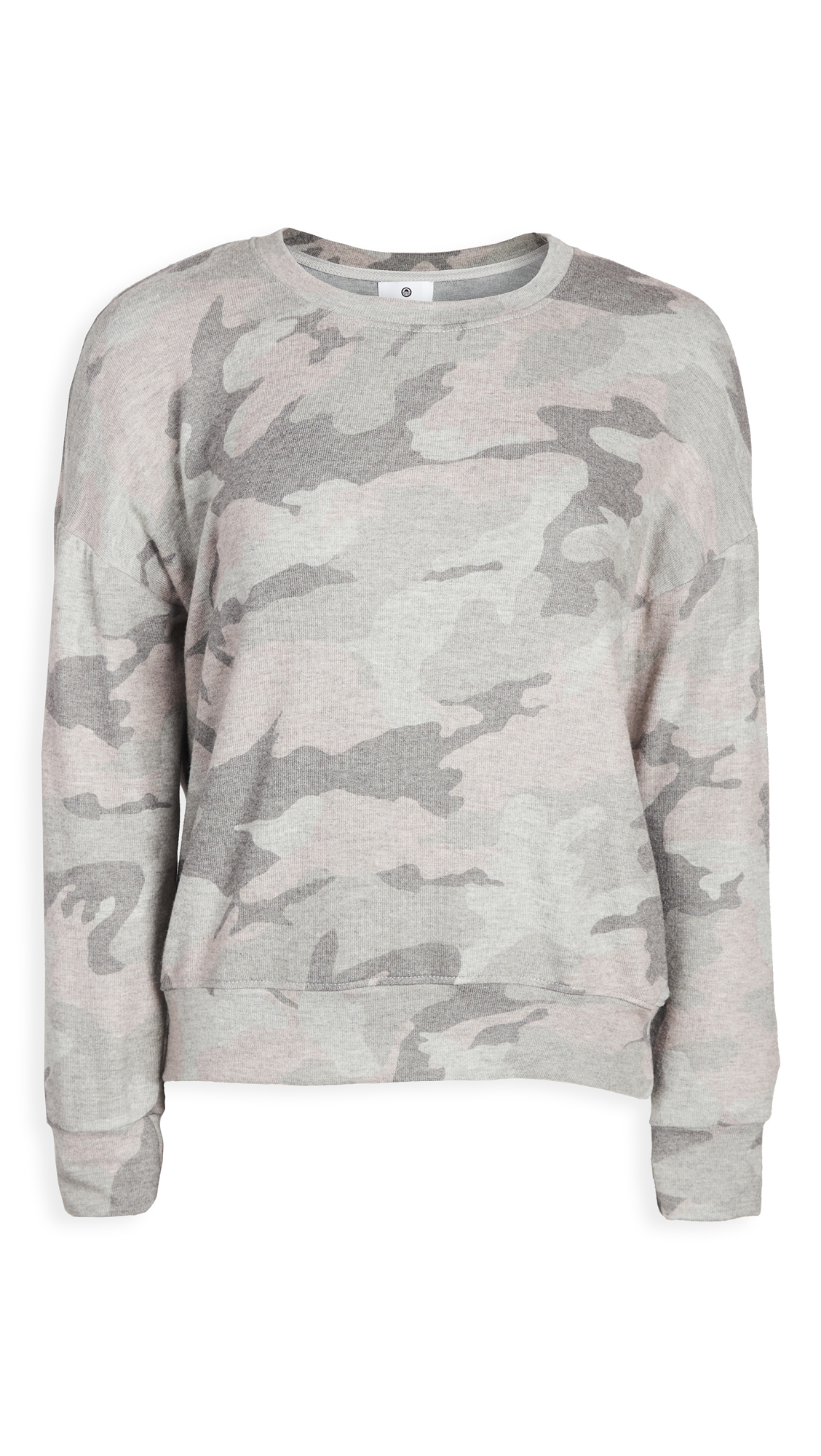 SUNDRY Camo Cozy Sweatshirt