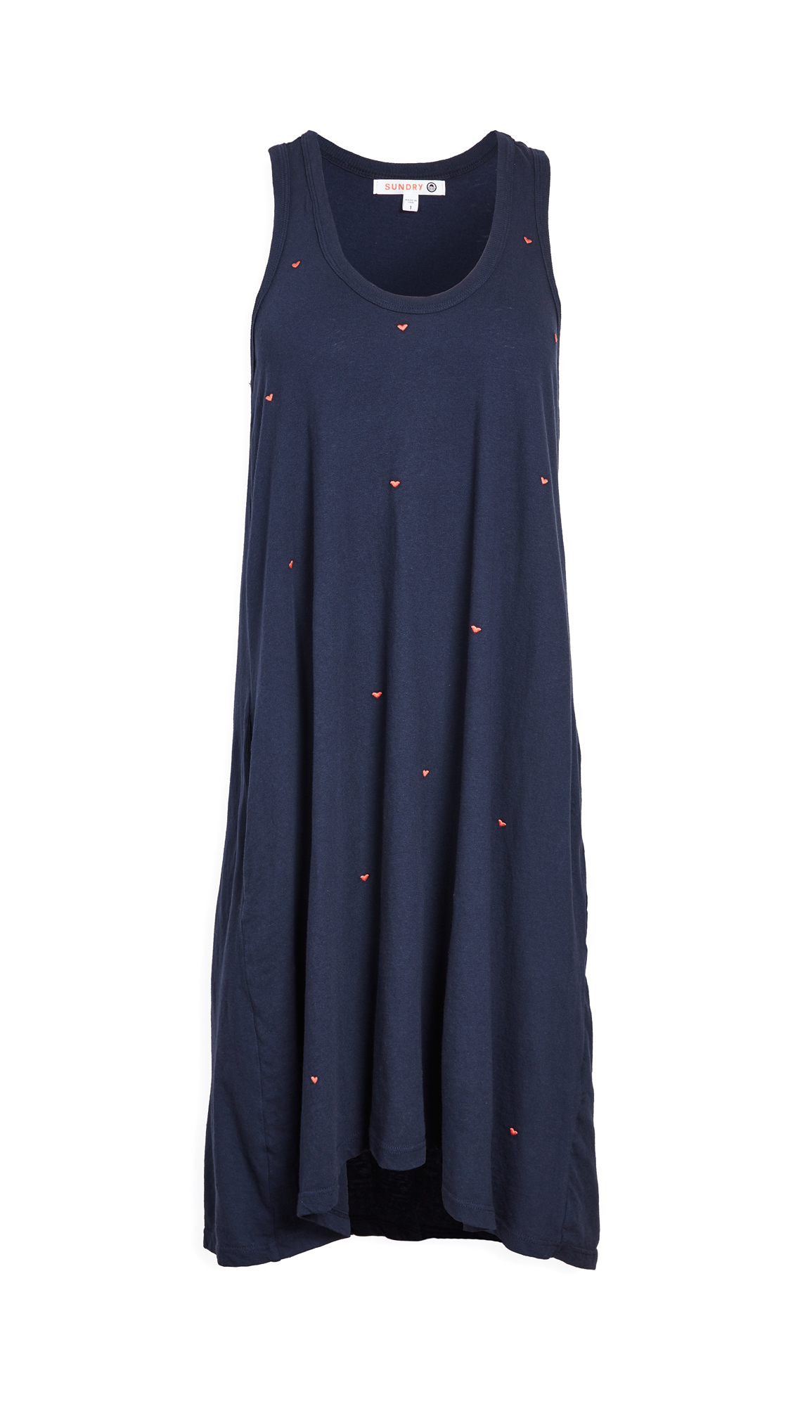 SUNDRY Trapeze Dress