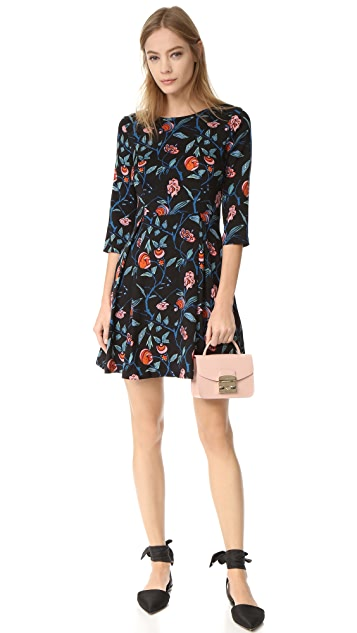 SUNO Fit and Flare Dress