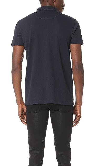 Sunspel Short Sleeve Riviera Polo Shirt