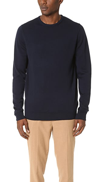Sunspel Crew Neck Sweater