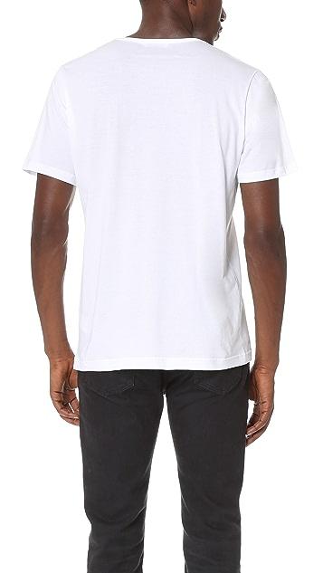 Sunspel Superfine Cotton Crew Neck Undershirt