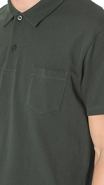 Sunspel Short Sleeve Rivieria Polo