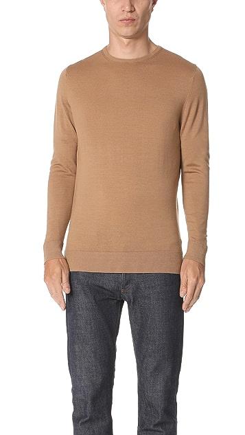 Sunspel Merino Crew Neck Sweater