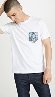Sunspel Short Sleeve Riviera Crew Neck T-Shirt