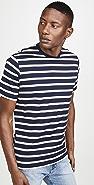 Sunspel Brenton Striped T-Shirt