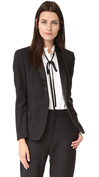 Superfine Sharp Tailored Blazer