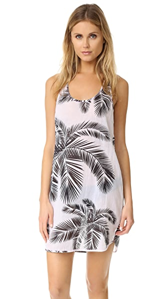 Surf Bazaar Palm Print Dress