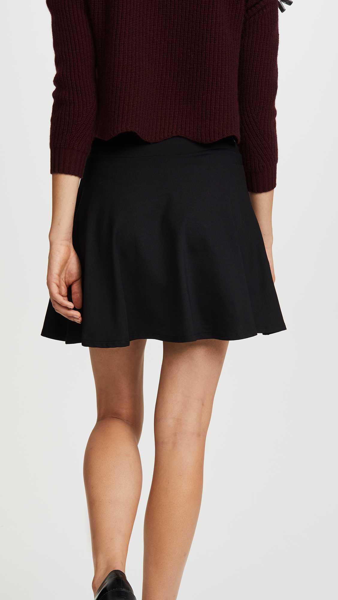2f217c10ed Susana Monaco High Waisted Flare Skirt   SHOPBOP