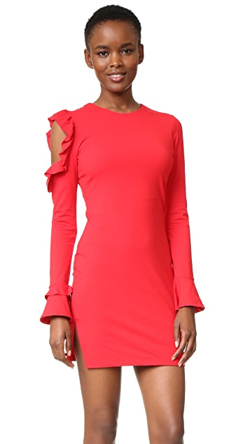 Susana Monaco Long Sleeve Dress