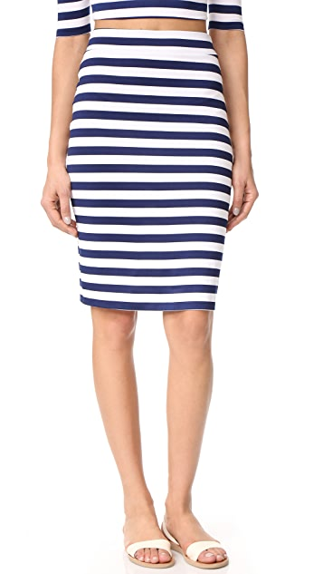 Susana Monaco Sachi Stripe Skirt