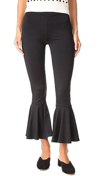 Susana Monaco Janette Pants In Black