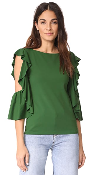 Susana Monaco Gennie Top In Pistachio