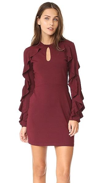 Susana Monaco Cora Dress - Oxblood