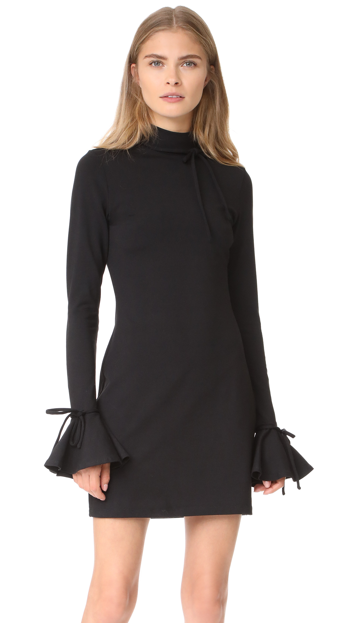 Susana Monaco Carolina Dress In Black