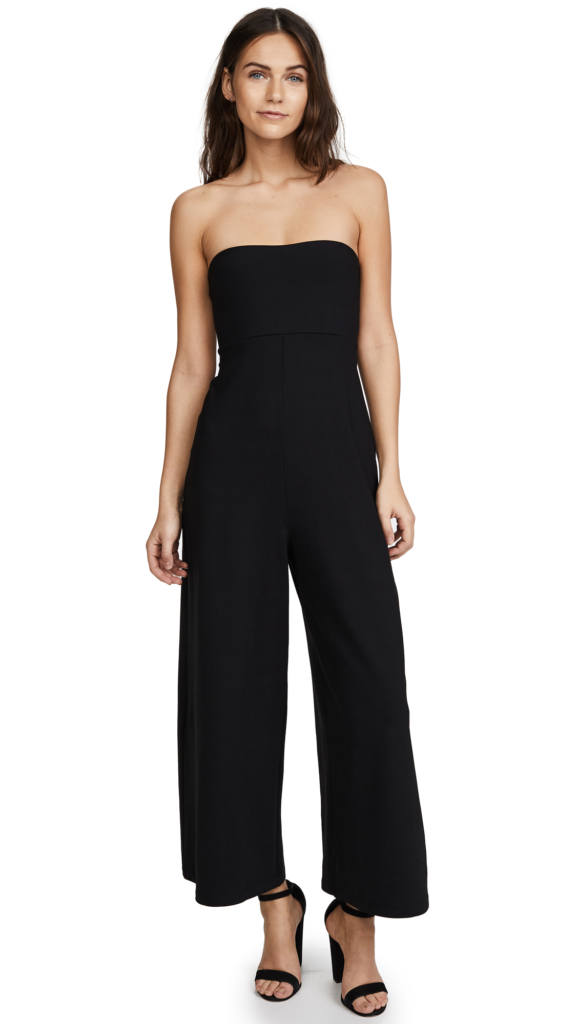 Susana Monaco Aimee Jumpsuit In Black