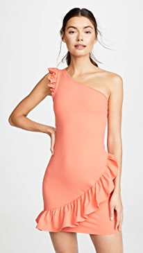 02b0d13e457 Susana Monaco. Ruffle Dress