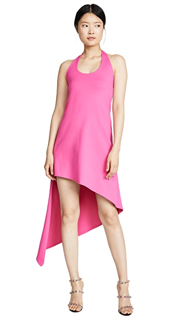 Susana Monaco Spiral Halter Dress