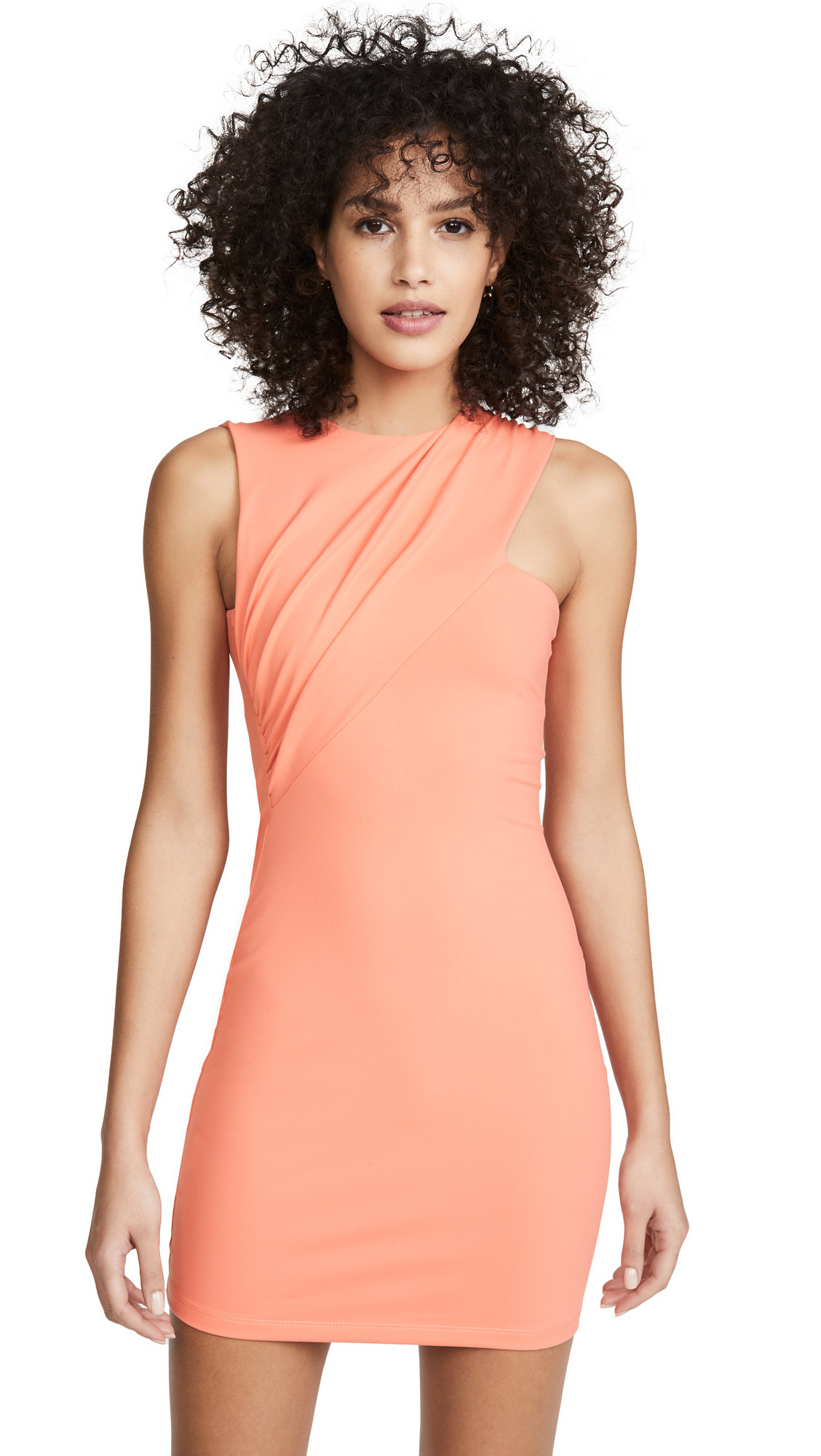 Susana Monaco Sleeveless Gathered Crossover Dress - 70% Off Sale