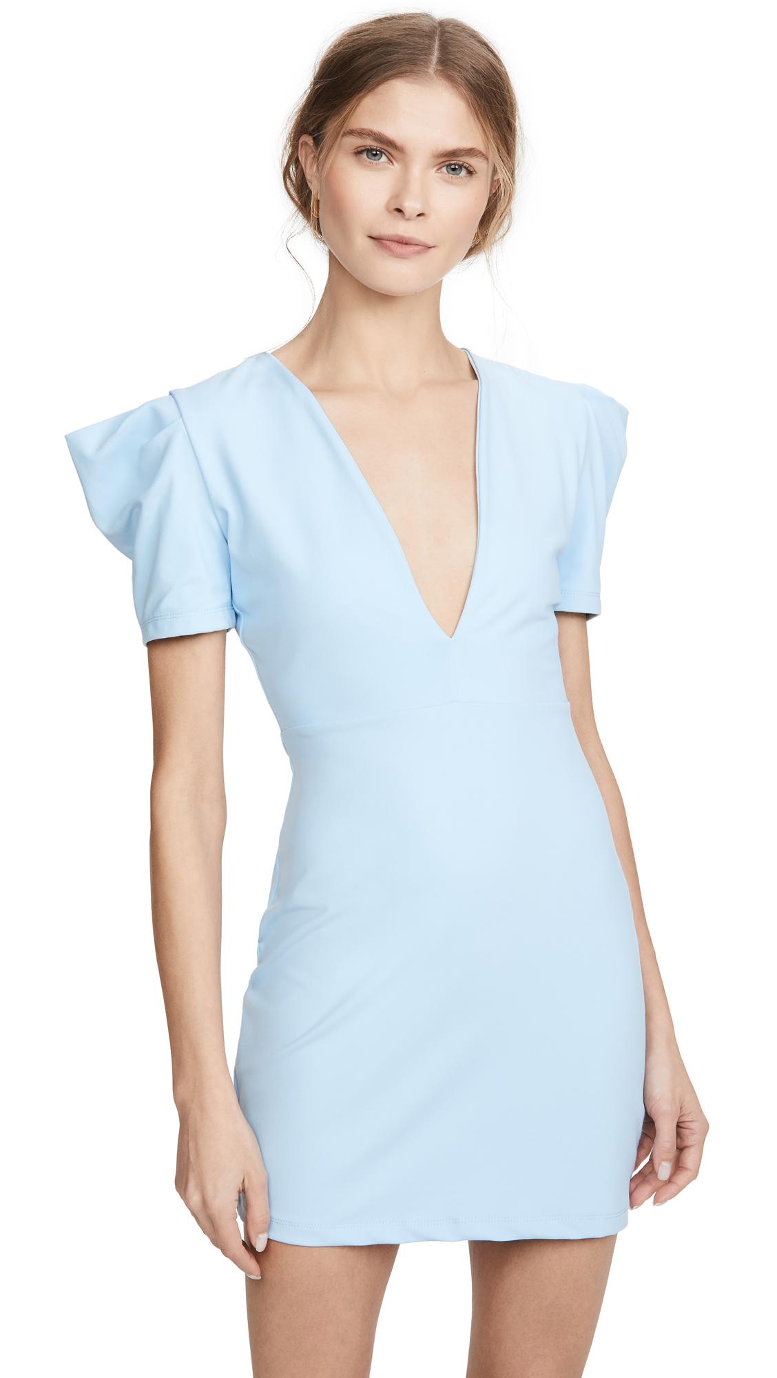 Buy Susana Monaco online - photo of Susana Monaco Deep V Mini Dress