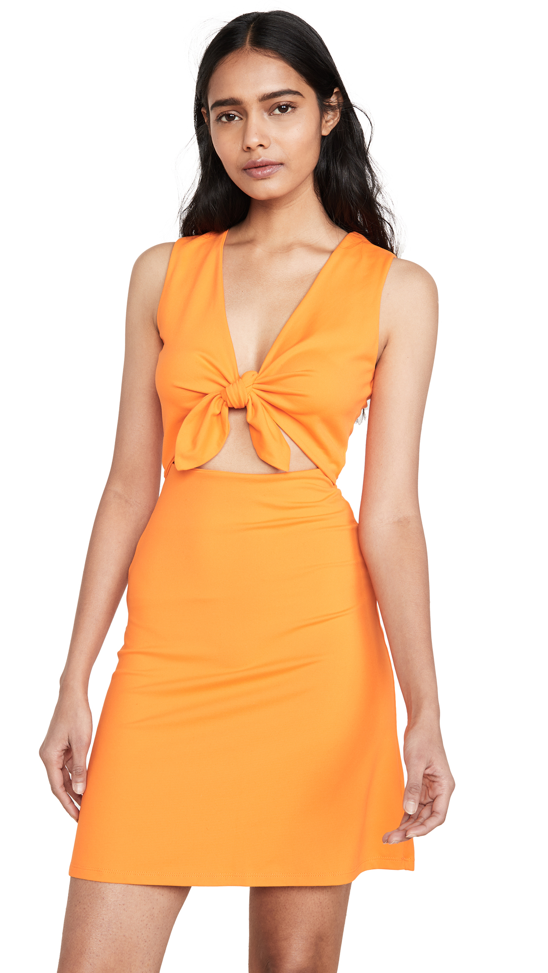 Buy Susana Monaco Bow Front Sleeveless Cutout Dress online beautiful Susana Monaco Clothing, Dresses