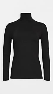 Susana Monaco Turtleneck Long Sleeve Top
