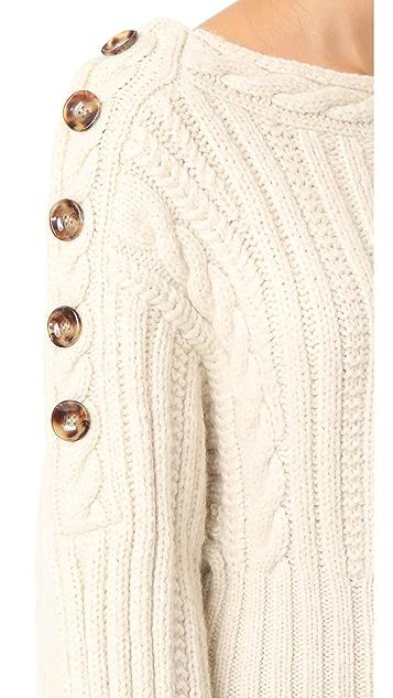 Spencer Vladimir Reversible Rose Sweater