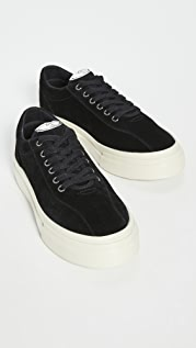 S.W.C Stepney Workers Club Dellow Suede Sneakers