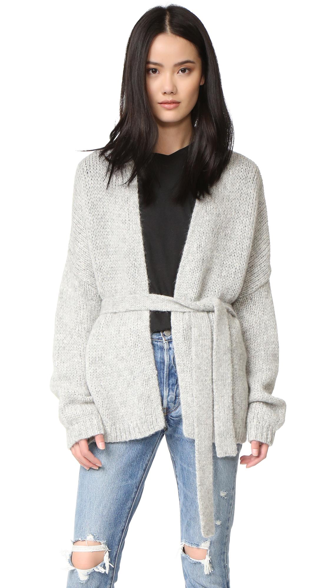 360 sweater female 360 sweater lada cardigan grey