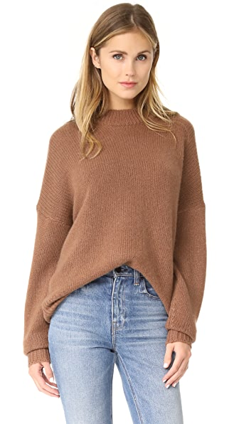 360 SWEATER Sharina Cashmere Sweater - Hazelnut