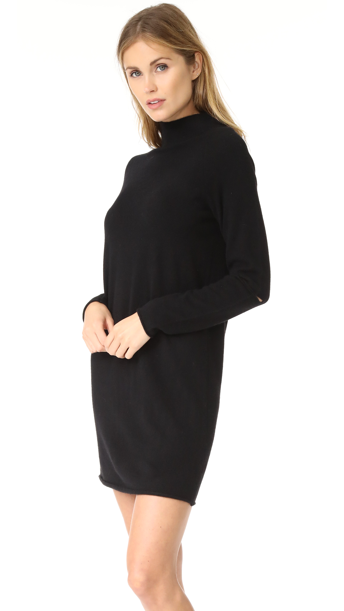 6df5a8d8eb 360 SWEATER Lynx Cashmere Sweater Dress