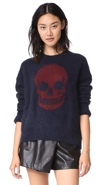 360 SWEATER Natalie Skull Sweater