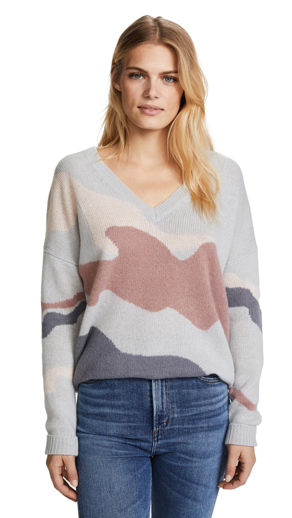 360 SWEATER Zuleika Skull Cashmere Sweater