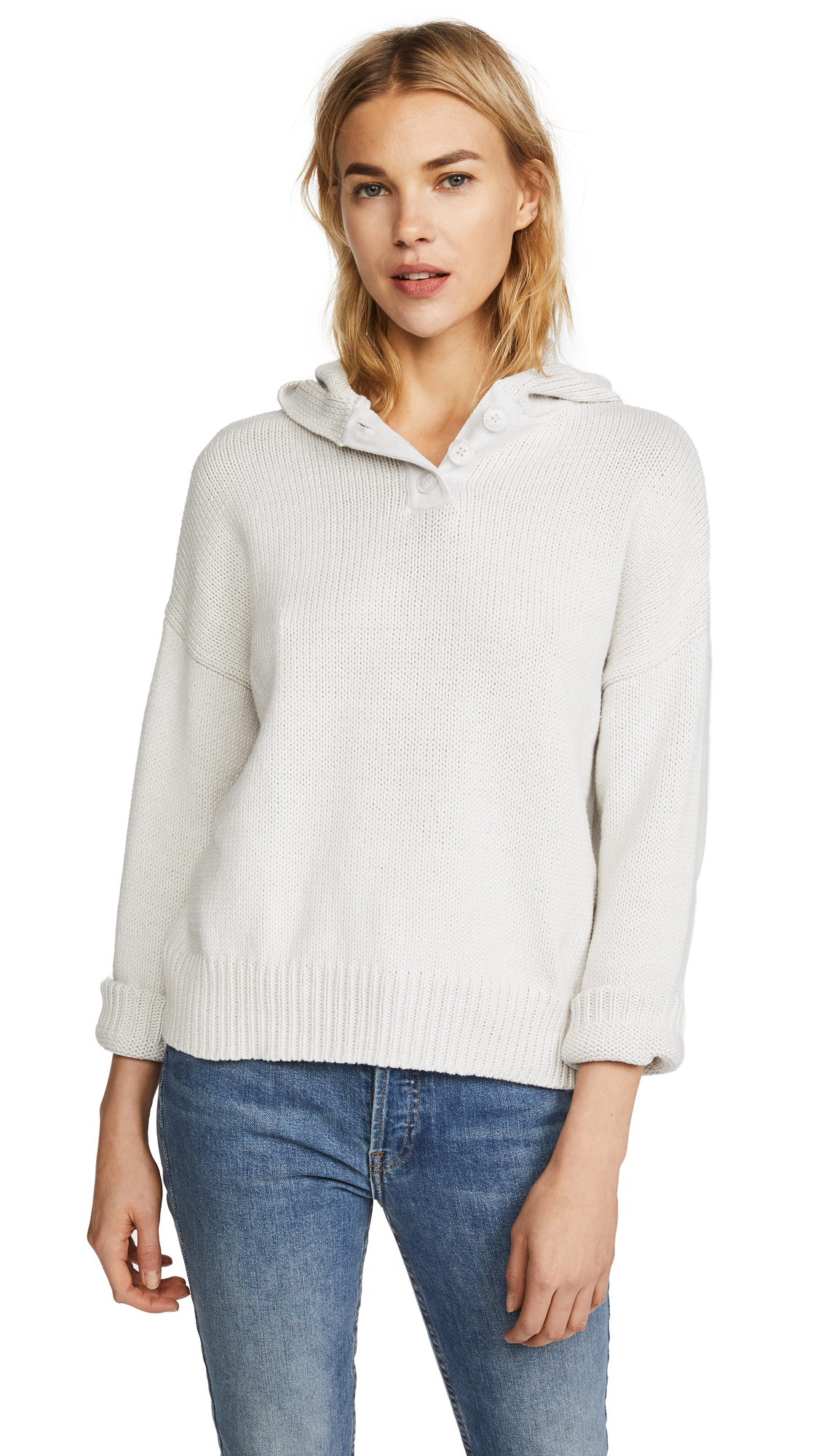 360 SWEATER Lillian Hooded Sweater