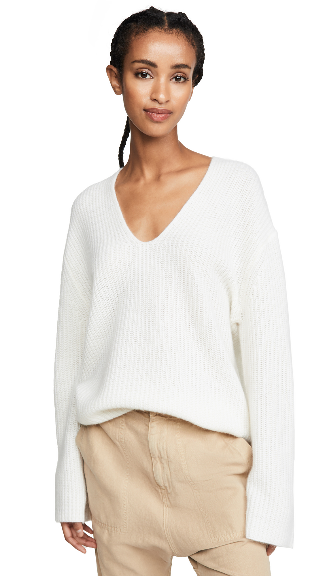 Buy 360 SWEATER online - photo of 360 SWEATER Reese Cashmere Sweater