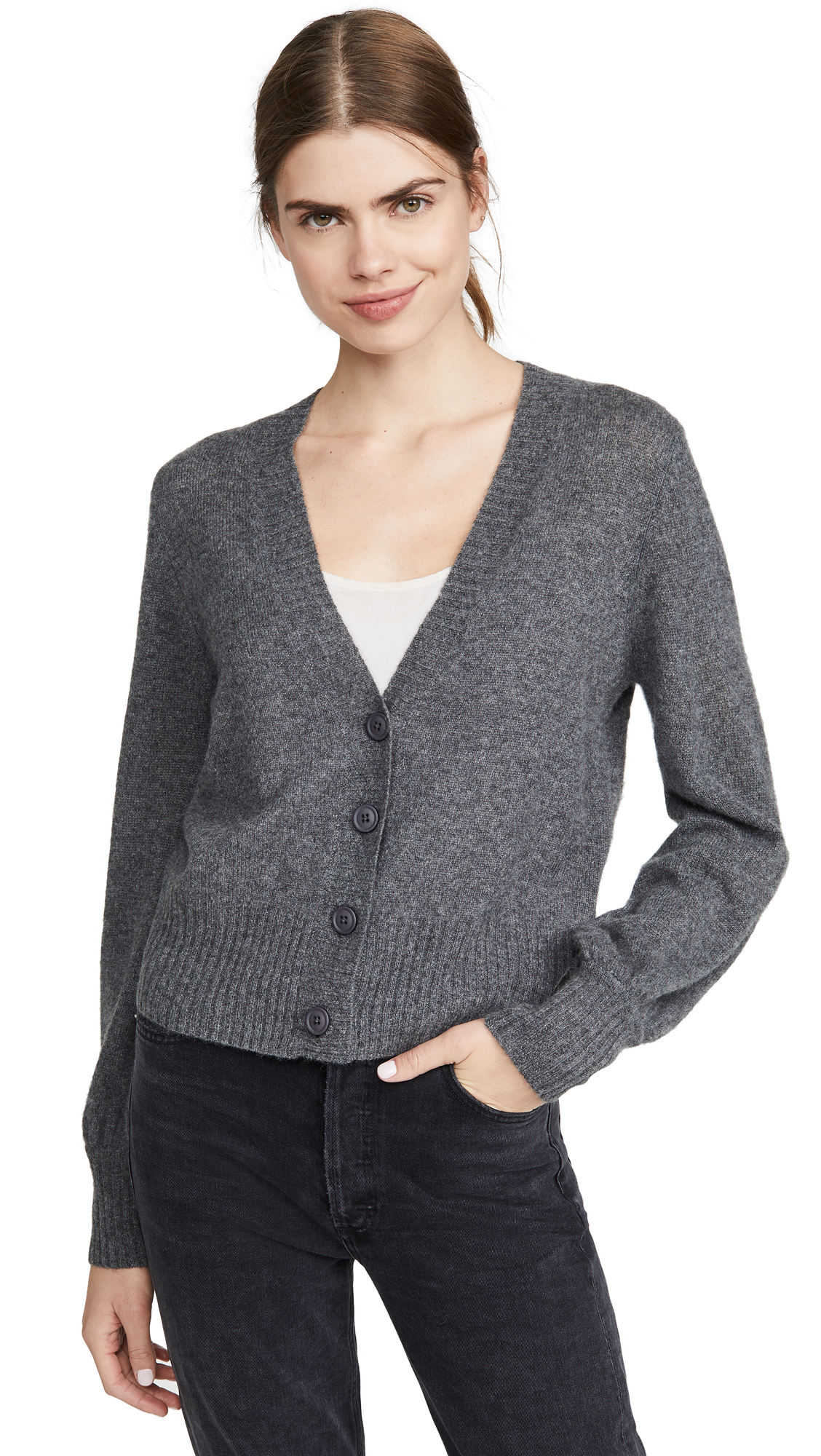 Buy 360 SWEATER online - photo of 360 SWEATER Kendall Cashmere Cardigan