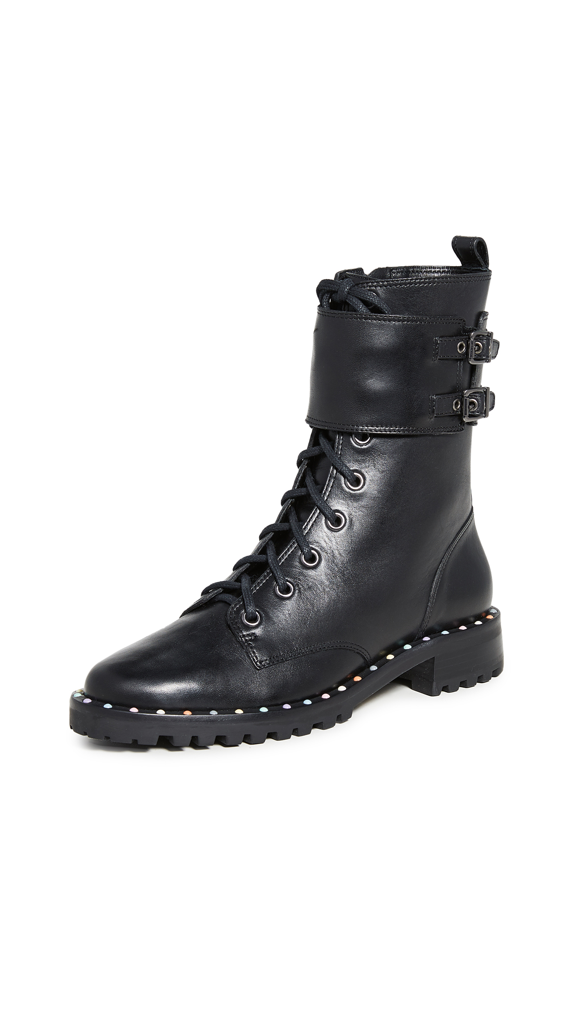 Buy Sophia Webster online - photo of Sophia Webster Bessie Lace Up Boots