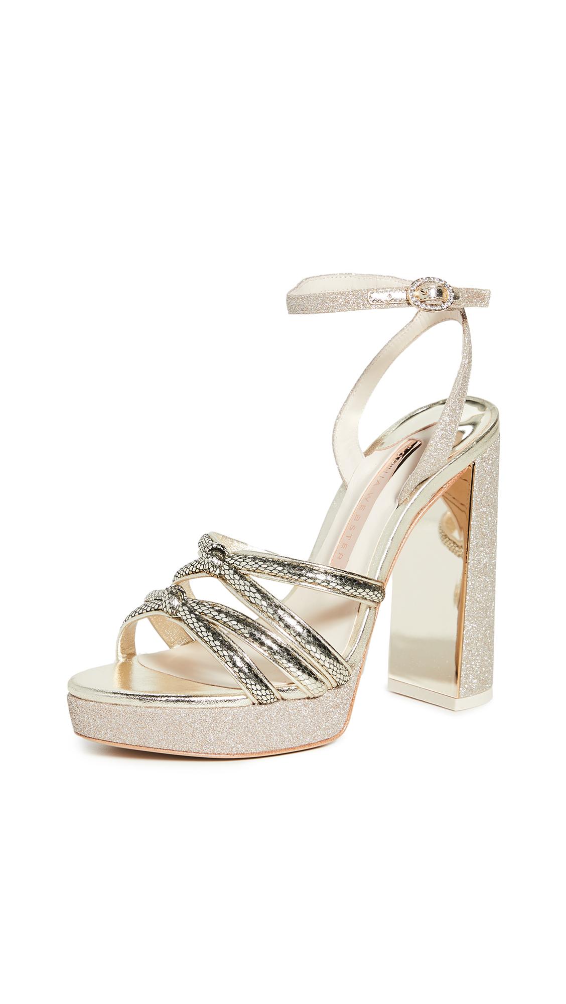 Sophia Webster Freya Platform Sandals - 70% Off Sale