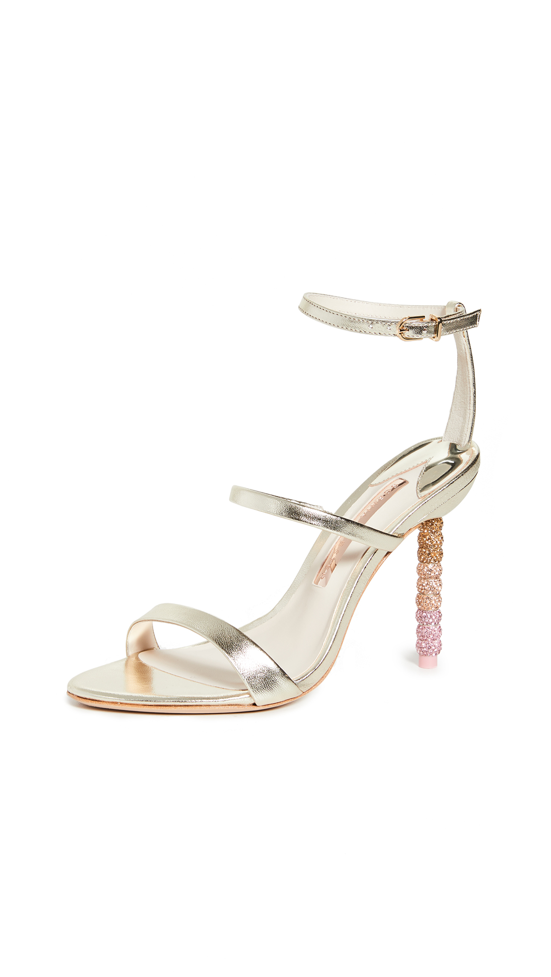 Buy Sophia Webster online - photo of Sophia Webster Rosalind Crystal Sandals